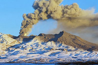 Mt Ruapehu is one of the New Zealand\u0027s most active volcanoes.