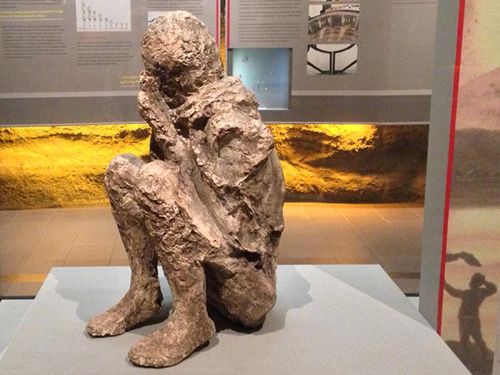 The Pompeii victim cast in our Volcanoes Gallery.