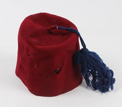 Fez collected by Colonel C.E.R. Mackesy.
