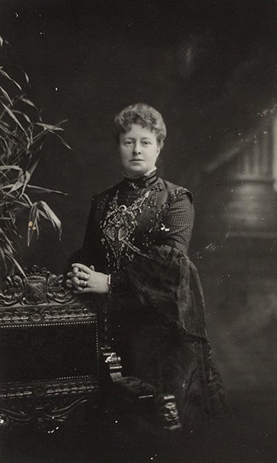 Portrait of Mrs Alice Mickle.
