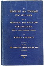 Cover of An English and Tongan vocabulary