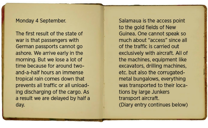Egon\u0027s diary entry for 4 September 1939.