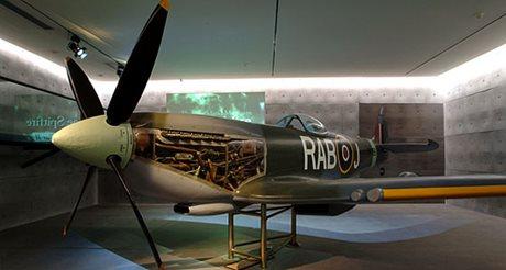 Spitfire Top Floor Auckland War Memorial Museum