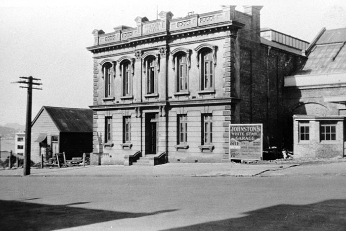 The vacated premises in Princes Street in the early 1930s after Auckland Museum moved to the Domain.