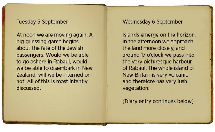 Egon\u0027s diary entry for 5-6 September (translated).