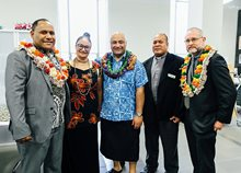 Fiji leaders at launch