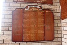 Waihi RSA Roll of Honour Board, Waihi