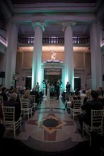 Wedding ceremony in the Grand Foyer
