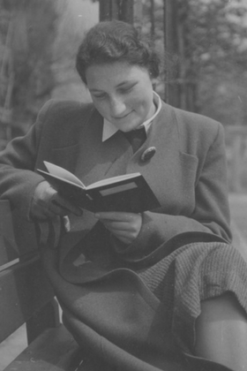 Doris Schoenberger in the mid to late 1930s.