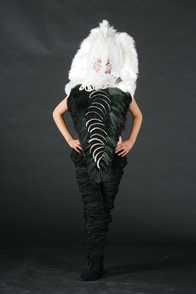 Andrea Clinton\u0027s \u0027Huia\u0027 won the World of WearableArt South Pacific section in 2006.