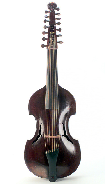 '[This viola d'amore is] perhaps my favourite of the bowed instruments in our collection'. - Ronald Castle.