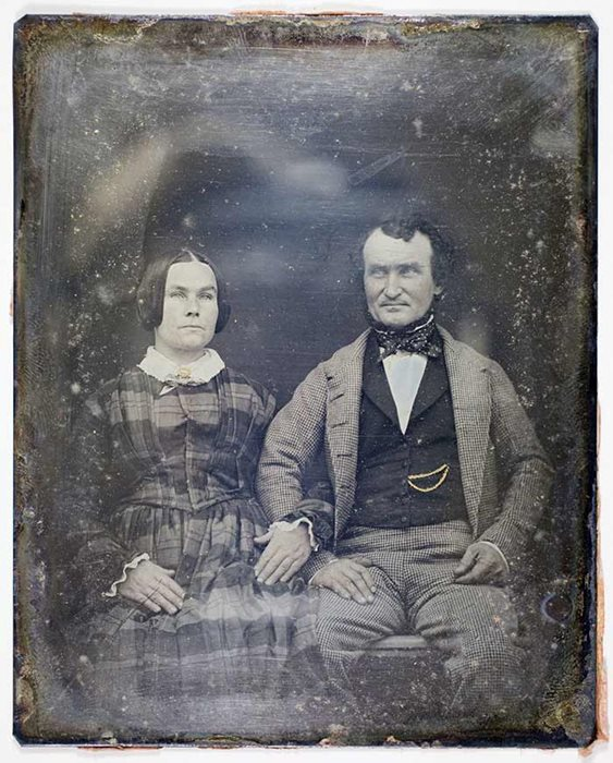 Alexander Alison and his wife Jane.
