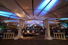 The Event Centre dressed for a ball